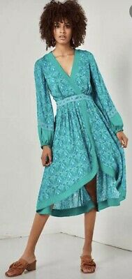 AU100 • Buy Spell & The Gypsy Collective Jewel Soiree Dress In Emerald - Size XL - EUC