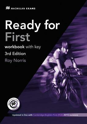 £17.17 • Buy Ready For FCE. Workbook With Audio-CD And Key ~ Roy Norris ~  9783191527105