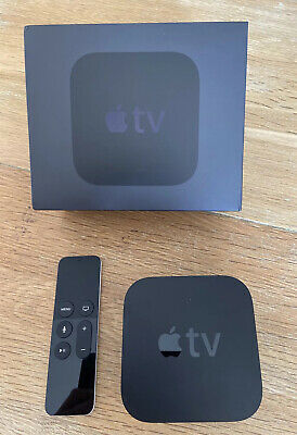 AU75.13 • Buy Apple TV 4th Generation 32GB HD Media Streamer (A1625) Boxed And Complete