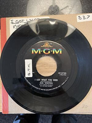 £24 • Buy I Got What You Need  Kim Weston(MGM Records)
