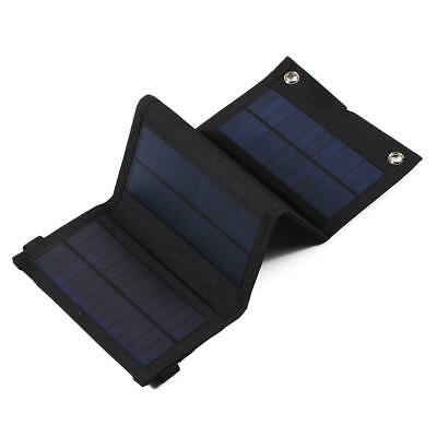 £19.99 • Buy 30W 5V Foldable Sunpower Solar Panel Charger Power Bank USB Hiking / Camping UK