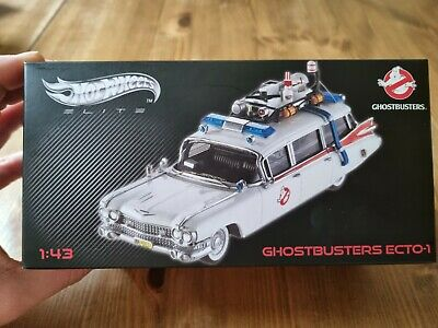 HOT WHEELS ELITE, 1:43 Scale GHOSTBUSTERS ECTO-1 BRAND NEW, UNOPENED AND SEALED  • 149.99£