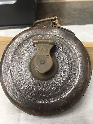 £6 • Buy Vintage Tape Measure John Rabone And Sons Made In England 33ft No 2601