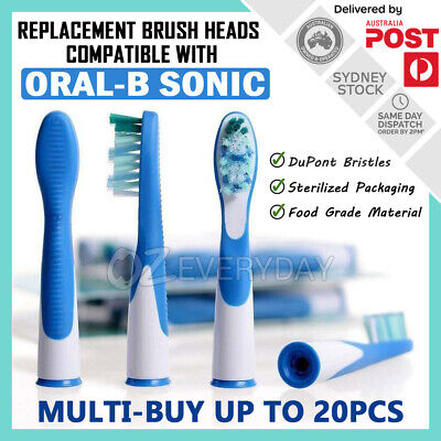 AU8.40 • Buy Replacement Brush Heads For Oral-B Sonic & Sonic Complete Electric Toothbrushes
