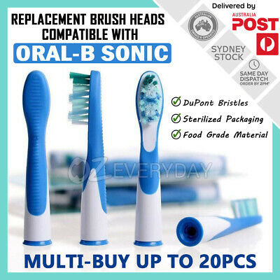 AU8.40 • Buy Replacement Brush Heads For Oral-B Vitality Sonic Complete Electric Toothbrushes