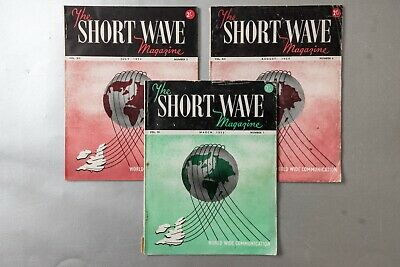 £4 • Buy 3x SHORT WAVE MAGAZINE 1953-1954 And Full Index To Vol. 10 (Mar 52 To Feb 53)