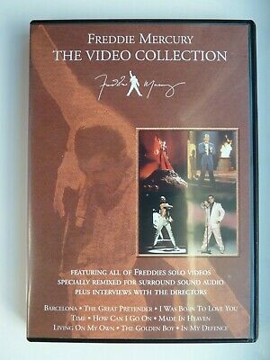 £11.63 • Buy Freddie Mercury - The Video Collection (DVD, 2000) With Booklet