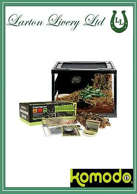 £104.95 • Buy Komodo Starter Kit Spider & Scorpion/Insects/Reptiles