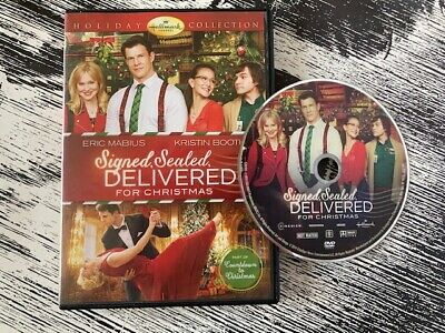 AU38.57 • Buy Signed, Sealed, Delivered For Christmas Rare DVD The Hallmark Channel Holiday