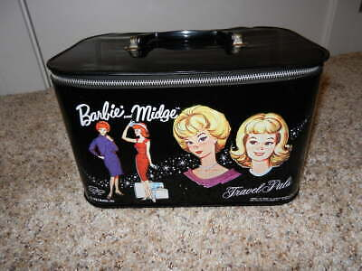 $ CDN42.31 • Buy 1963 Vintage Barbie & Midge Travel Pals Carrying Case