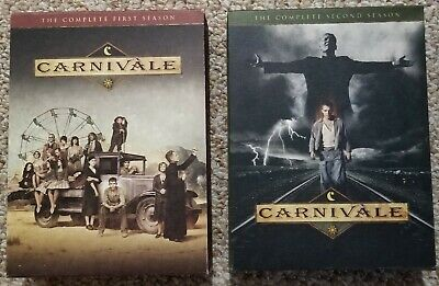 CARNIVALE DVD BOX SETS Season 1 And 2 HBO Series Complete VG • 10.61£