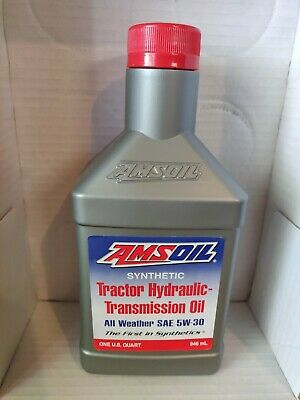 $ CDN19.35 • Buy Amsoil Synthetic Tractor Hydraulic Transmission Oil All Weather 1 Qt. SAE 5W30