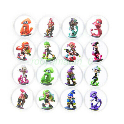 AU29.82 • Buy AU Splatoon 2 16PCS PVC NFC Tag Game Amiibo Cards Octoling Octopus For Switch