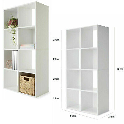 AU98.29 • Buy 8 Cube Bookcase Storage Rack Cabinet Organizer Bookshelf Book Display Shelf AUS