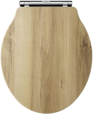 Old London NLS598 Natural Walnut Richmond Toilet Seat • 89.14£