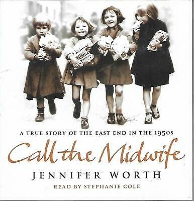 Call The Midwife DVD Audio-book CD Read By Stephanie Cole Abridged 4 Disc • 3.75£