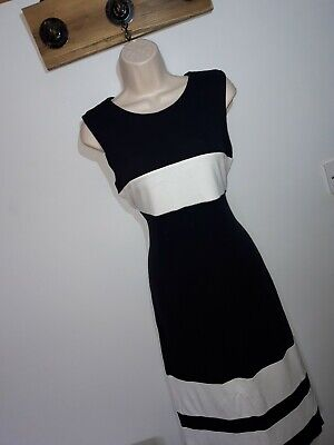 AU6.26 • Buy **HOBBS** Sz 14 Blue White Long Line Dress