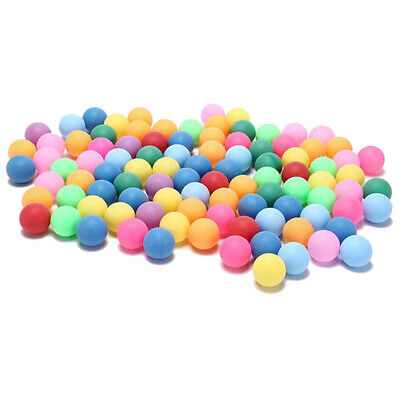 AU20.68 • Buy 150Pcs/Pack Colored Ping Pong Balls 40mm Entertainment Table Tennis Balls Mixed