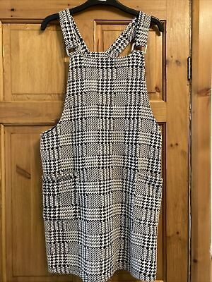 AU5.35 • Buy Ladies Pinafore Dress Size 14 NEW LOOK