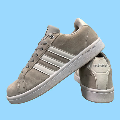 AU41.13 • Buy Adidas Cloudfoam Women's Shoes Size Uk 6 Grey Sneakers Casual Trainers EUR 39