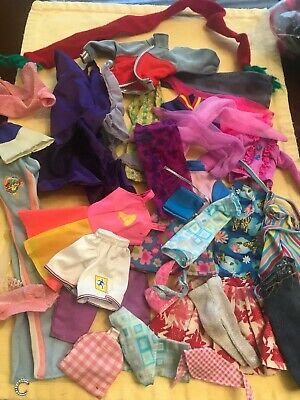 $ CDN13.91 • Buy HUGE LOT Of 32 Vintage BARBIE  & Friends , Clothes Clone Or Unmarked