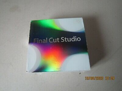 £120 • Buy Apple Final Cut Studio Pro 7 Boxed With Instructions
