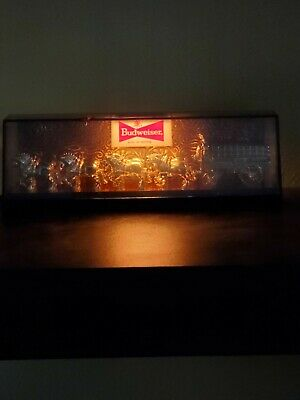 $ CDN78.60 • Buy Vintage 8  Budweiser Bar Light~clydesdales & Beer Wagon