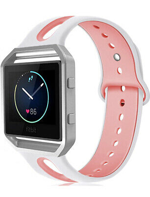 AU21.69 • Buy Fitbit Blaze Band W/ Frame Small & Large Silicone Replacement Band Strap