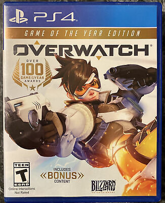 AU19.29 • Buy Overwatch: Game Of The Year Edition (Sony PlayStation 4, 2017) - NO DLC - PS4