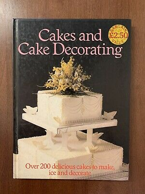 Cakes And Cake Decorating Book • 0.45£