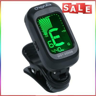 AU10.11 • Buy #QZO Guitar Tuner Violin Ukulele Bass Clip-on LCD Tuner Musical Instrument Parts
