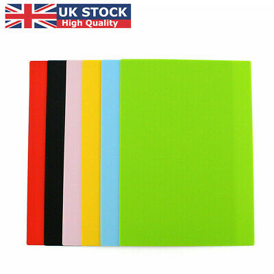 £3.99 • Buy Silicone Table Mat Heat Resistant Waterproof Non-Slip Desk Pad Placemat UK Store