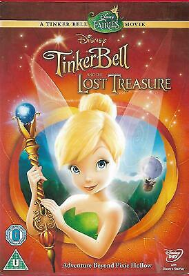 £1.90 • Buy Tinkerbell And The Lost Treasure DVD Disney Animation