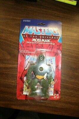 $135 • Buy Moss Man MOC - Commemorative Masters Of The Universe 2001