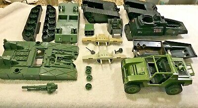 $ CDN30.33 • Buy A124 GI JOE Vehicle Lot (parts) VAMP HISS CLAW BRIDGE LAYER