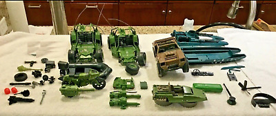 $ CDN32.76 • Buy A126 GI Joe Vehicle Part Lot INCOMPLETE AWE Striker VAMP Moccasin RAM And MORE