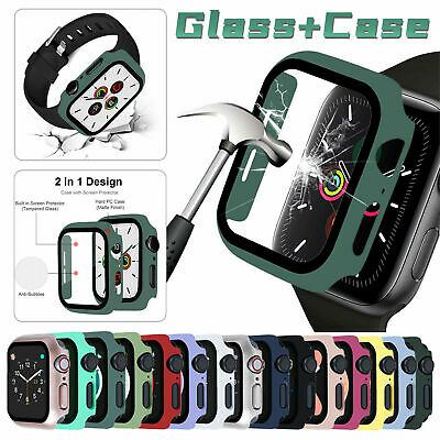 $ CDN4.27 • Buy Apple Watch Screen Protector Tempered Glass Series 1 2 3 4 5 38mm 40mm 42mm 44mm