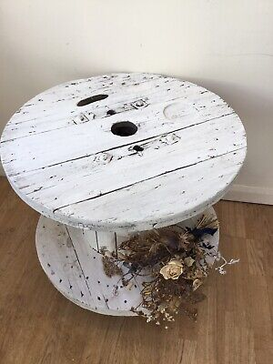 Large Wooden Cable Drum • 50£