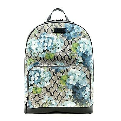 $ CDN1530.33 • Buy Gucci Backpack Blooms Supreme Flowers Large New