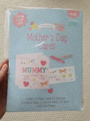 £3.50 • Buy Mothers Day Arts And Craft Card Making Kit