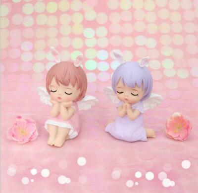 £9.99 • Buy Cute Angel Fairy Little Girl Decoration Action Figures Cartoon Doll Kid Toy Gift