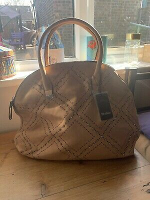 Bnwt Large Camel Colour Tote Shpulder Bag Faux Leather  • 7.99£