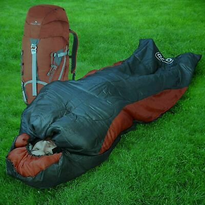 £18.15 • Buy Sleeping Bag Hiking Outdoor Travel Camping Dual Zip Warm Adult With Carry Bag