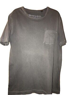 £6 • Buy So Cal Surf Turf  Age Unit , Faded Grey  T Shirt  Size M