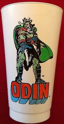 AU22.94 • Buy Odin 1975 7-Eleven Slurpee Cup Marvel Comics Superhero Made In USA Thor's Father