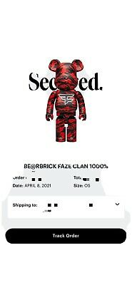 $750 • Buy Faze Clan Bear Brick 1000% Xl— Order Confirmed