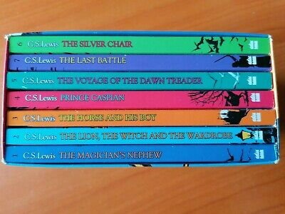 £7.99 • Buy C S Lewis - 7 Book Set Collection - The Chronicles Of Narnia - Box Set