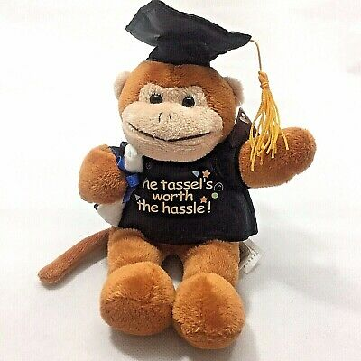 $ CDN14.50 • Buy Graduation 8  Plush Monkey-The Tassel's Worth The Hassle-Free Shipping