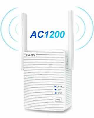 AU88.06 • Buy AC1200 WiFi Booster Range Extender, Extend Dual Band WiFi Of 5GHz