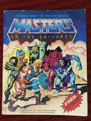 $12.50 • Buy MOTU Masters Of The Universe HE-MAN AND THE POWER SWORD Mini Comic 1982 8-back